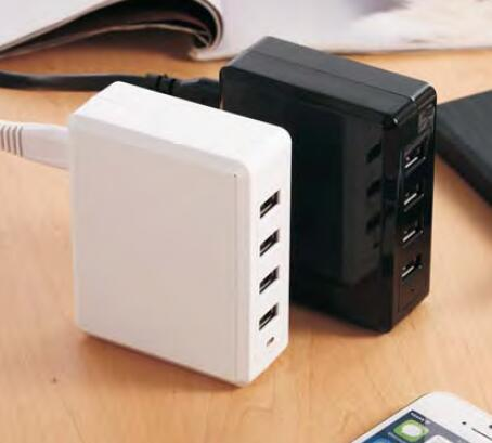 4 USB Ports Desktop charger